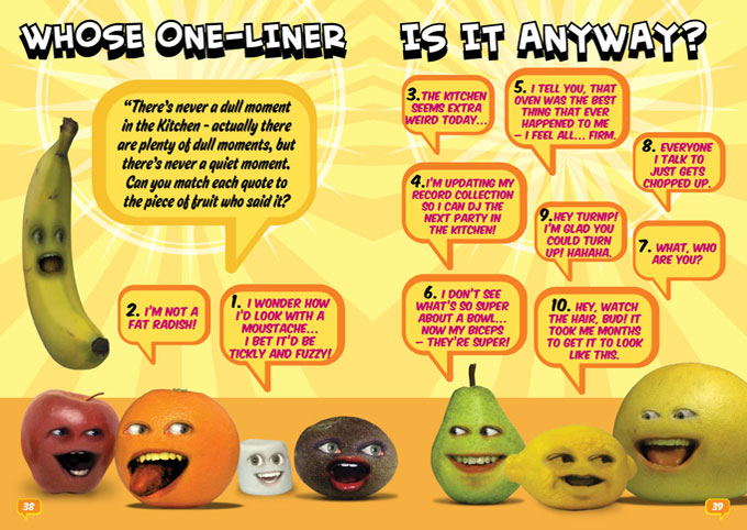 Annoying Orange – Activity Annual