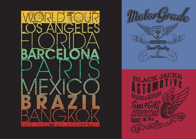 Textile Graphics: Older Boyswear